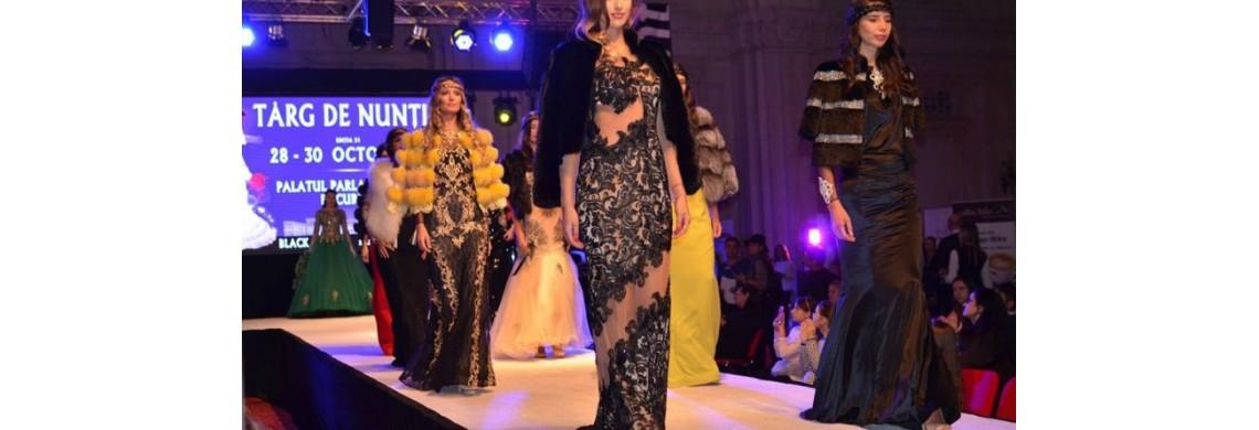 2017 este anul accesoriilor și rochiilor spectaculoase, care îmbină dantela cu blana  colorată