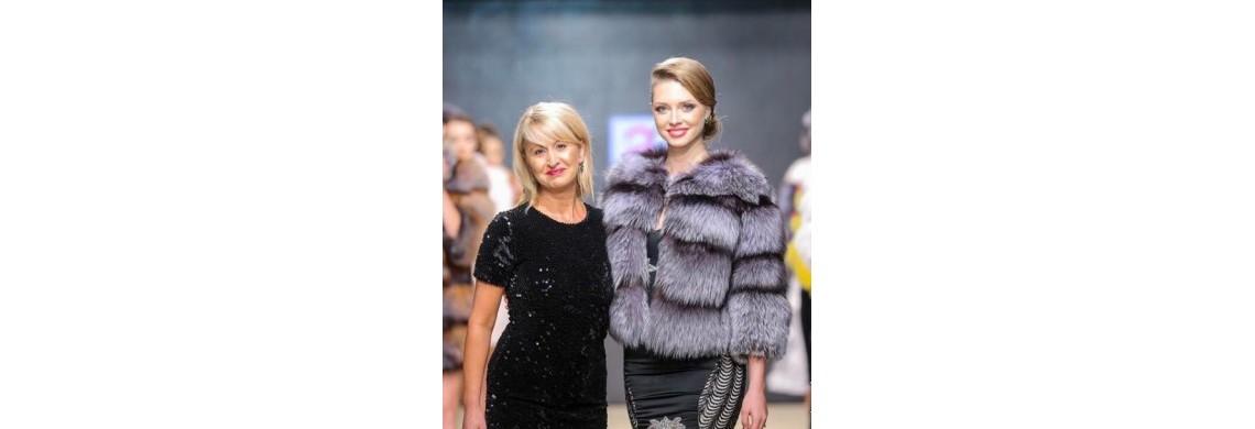 Adriana Mandreanu, designer de haine de blana, piele si matase naturala